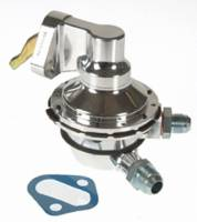 Mechanical Fuel Pumps - BB Chevy Fuel Pumps - Carter Fuel Delivery Products - Carter Billet Racing Mechanical Fuel Pump - Gasoline - BB Chevy 396-454