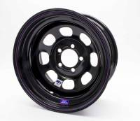 "Bart IMCA 15"" x 8"" - Bart IMCA 15"" x 8"" - 5 x 4.75"" (GM) - Bart Wheels - Bart IMCA Wheel - Black - 15"" x 8"" - 5"" x 4.75"" Bolt Circle - 4"" Back Spacing - 19 lbs."
