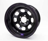 "Bart Wheels - Bart IMCA Competition Wheels - Bart Wheels - Bart IMCA Wheel - Black - 15"" x 8"" - 5"" x 4.75"" Bolt Circle - 4"" Back Spacing - 19 lbs."