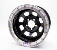 "Bart Wheels - Bart IMCA Beadlock Wheels - Bart Wheels - Bart IMCA Beadlock Wheel - Black - 15"" x 8"" - 5"" x 5"" Bolt Circle - 2"" Back Spacing - 26 lbs."