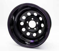"Bart Wheels - Bart Economy Lightweight Wheel - Black - 15"" x 8"" - 5 x 4.75"" Bolt Circle - 2"" Back Spacing - 21 lbs."
