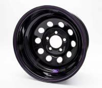 "Bart Wheels - Bart Economy Lightweight Wheel - Black - 15"" x 8"" - 5 x 4.75"" - 3"" BS - 21 lbs."
