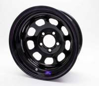 "Bart Reinforced 15"" x 8"" - Bart Reinforced 15"" x 8"" - 5 x 5"" - Bart Wheels - Bart Reinforced Center Wheel - Black - 15"" x 8"" - 5 x 5"" Bolt Circle - 3"" Back Spacing - 26 lbs."