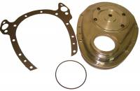 "Valve Train Components - Timing Covers - Cloyes - Cloyes Quick Button™ Two-Piece Timing Cover - SB Chevy - ""Rocket"" Block"