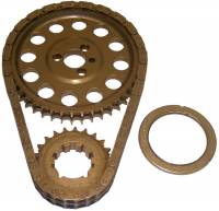 Timing Chains - Timing Chains - SB Chevy - Cloyes - Cloyes Billet True® Roller Timing Chain Set w/ 9 Keyway Crank Sprocket - SB Chevy 55-Up 26-400 w/ Torrington Bearing
