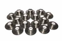 "Camshafts and Valvetrain - Valve Spring Retainers - Comp Cams - Comp Cams 10° Titanium Double Lightweight Valve Spring Retainers - Light Weight Lock Angle: 10° Valve Stem Size: All Valve Spring Diameter: 1.500"" - 1.550"""