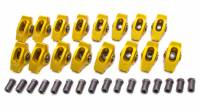 "Rocker Arms - Aluminum Roller Rocker Arms - SB Chevy - Crane Cams - Crane Cams Gold Race Extruded Aluminum Roller Rocker Arms (16) - 1.6 Ratio - 3/8"" Stud - Chevrolet 90° V-6 78-86, 200-229 (3.8L), 262 (4.3L)"