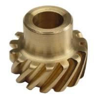 """Crane Cams - Crane Cams Bronze Distributor Gear - Aluminum, Bronze - .467"""" Diameter Shaft - Ford - 221-302, 351W - Image 2"""