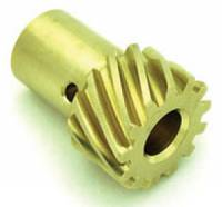 "Distributor Gears - Bronze Distributor Gears - Crane Cams - Crane Cams Bronze Distributor Gear - Aluminum, Bronze, .531"" Diameter Shaft, Ford 221-302/ 351W"