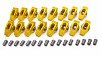 "Rocker Arms - Aluminum Roller Rocker Arms - SB Ford - Crane Cams - Crane Cams Gold Race Extruded Aluminum Roller Rocker Arms (16) - 1.6 Ratio - 7/16"" Stud - Stud Mount - SB Ford 289, 302, 351W"