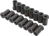 "Hardware and Fasteners - Crane Cams - Crane Cams Aluminum Rocker Arm Adjusting Nuts (16) - 3/8"" Stud"