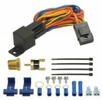 Fan Parts & Accessories - Electric Fan Wiring & Switches - Derale Performance - Derale Single Stage Fan Controller w/ Radiator Probe - (180F)