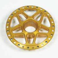 Wheel Parts and Accessories - Wheel Centers - DMI - DMI Goldstar Aluminum Rear Splined Wheel Center - Fits Sanders & Weld