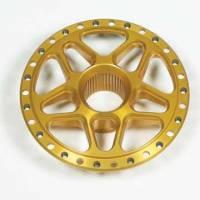 Wheel Components and Accessories - Wheel Center Sections - DMI - DMI Goldstar Aluminum Rear Splined Wheel Center - Fits Sanders & Weld