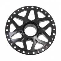 Wheel Parts and Accessories - Wheel Centers - DMI - DMI Black Widow Aluminum Rear Splined Wheel Center - Fits Sanders & Weld