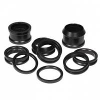 Driveline & Rear End - Axle Spacers - DMI - DMI 10 Pc. Aluminum Spacer Kit - Black