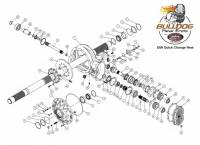 "DMI - DMI Bulldog XR-1 Complete 4.86 Magnesium Quick Change Rear End w/ 2.000"" Axle - Image 4"