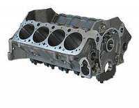 "Cast Iron Engine Blocks - Cast Iron Engine Blocks - SB Chevy - Dart Machinery - Dart SHP Cast Iron Engine Block 4-Bolt Mains - 4.000"" Diameter Bore - 2-Piece Rear Main Seal"