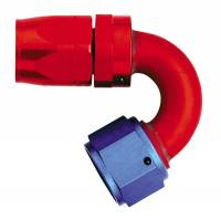 Aeroquip Swivel Hose Ends - Aeroquip 150° Swivel Hose Ends - Aeroquip - Aeroquip Reusable Aluminum -08 AN 150 Swivel Hose End