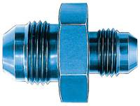 AN to AN Fittings & Adapters - Male AN Union Reducers - Aeroquip - Aeroquip Aluminum -12 AN to -08 AN Union Reducer