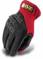 Crew Apparel - Mechanix Wear - Mechanix Wear Fast Fit Gloves - Red - Medium