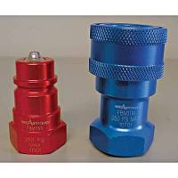 Brake System Adapters - Quick-Disconnect Couplings - Aeroquip - Aeroquip Aluminum Female Quick Disconnect Coupling