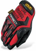 Mechanix Wear Gloves - Mechanix Wear M-Pact Gloves - Mechanix Wear - Mechanix Wear M-Pact® Gloves - Red - Medium