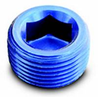 "Pipe Thread to Pipe Thread Adapters - Pipe Thread Plugs - A-1 Performance Plumbing - A-1 Performance Plumbing 1/2"" NPT Plug"