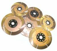 "Clutch Components - Clutch Discs - Ace Racing Clutches - Ace Racing Clutch Pack - 7.25""- 3 Disc - 1-1/8"" X10 Spline"