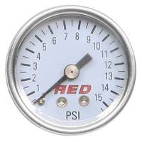"AED Performance - AED 1.5"" Screw-In Fuel Pressure Gauge - 0-30 PSI - Image 2"