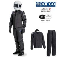 Racing Suits - Drag Racing Suits - Sparco - Sparco Jade 2 Suit - 2 Piece Design