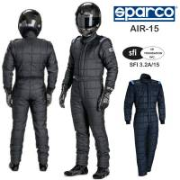 Safety Equipment - Sparco - Sparco AIR-15 Drag Racing Suit