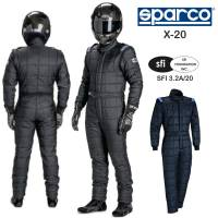 Racing Suits - Drag Racing Suits - Sparco - Sparco X-20 Drag Racing Suit