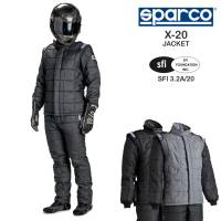 Racing Suits - Drag Racing Suits - Sparco - Sparco X-20 Drag Racing Jacket (Only)