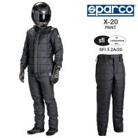 Sparco - Sparco X-20 Drag Racing Pants (Only)