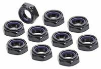 "Nuts - Nuts (Nyloc) - Allstar Performance - Allstar Performance Black Half Nuts 1/2""-20"