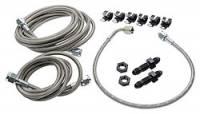 Brake Hoses & Lines - Brake Hose & Line Kits - Allstar Performance - Allstar Performance Front End Brake Line Kit For Dirt Modifieds w/ OEM Calipers