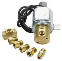 Brake Fluid Controls - Roll Controls / Line Locks - Allstar Performance - Allstar Performance Electric Line Lock Kit With Fittings