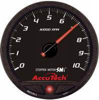 Memory Tachometers - In-Dash Memory Tachs - Longacre Racing Products - Longacre SMI Tach Warning LT and LED BKLT 4-1/2in