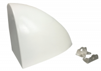 Fuel System Components - Fuel Cell Accessories & Parts - Allstar Performance - Allstar Performance Sprint Aero Fuel Tank Cover - White