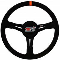 "Competition Steering Wheels - Aluminum Lightweight - 14"" Aluminum Lightweight Steering Wheels - MPI - MPI 14"" LW Aluminum Wheel - Suede Grip - 3-1/2"" Dished"