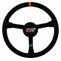 "Karting Parts - Karting Steering Wheels - MPI - MPI 13"" LW Steel Wheel - Suede Grip - 3"" Dished"