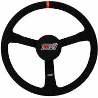 "Competition Steering Wheels - Steel - 15"" Steel Steering Wheels - MPI - MPI 15"" Steel Wheel - Suede Grip - 3-1/4"" Dished"