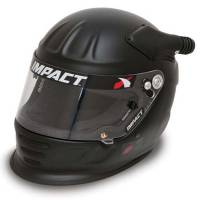 Impact - Impact Air Draft OS20 Helmet  - Large - Flat Black