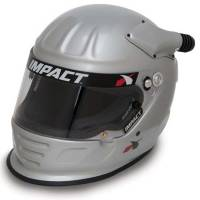 Helmets - Snell SA2015 Rated Forced Air Helmets - Impact - Impact Air Draft OS20 Helmet  X- - Large - Flat Black