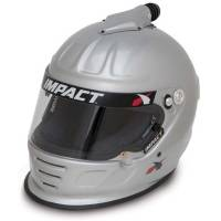 Helmets - Snell SA2015 Rated Forced Air Helmets - Impact - Impact Air Draft Top Air Helmet - X-Large - Flat Black