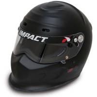 Impact Helmets - IMPACT SNELL SA2015 HELMET CLEARANCE SALE! - Impact - Impact Champ Helmet - Medium - Flat Black