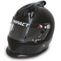 Impact - Impact Super Charger Top Air Helmet - Large - Black