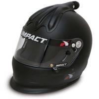 Impact - Impact Super Charger Top Air Helmet - Large - Flat Black