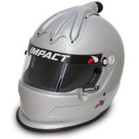 Helmets - Snell SA2015 Rated Forced Air Helmets - Impact - Impact Super Charger Top Air Helmet - Large - Silver